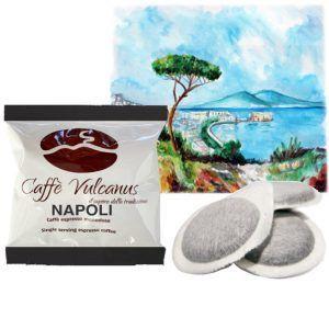 Cialde caffè ESE44 – Caffe Vulcanus – Miscela Napoli
